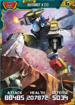 Autobot X 1 Robot