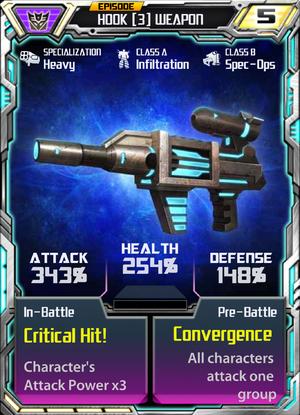 Hook 3 Weapon