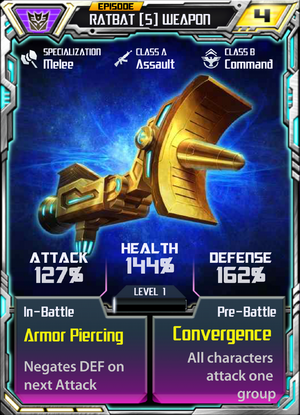 Ratbat 5 Weapon