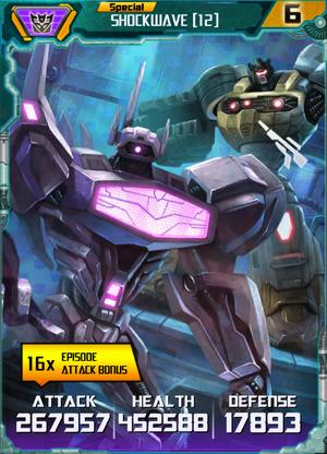 Shockwave 12 Robot