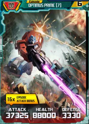 Optimus Prime 7 Robot