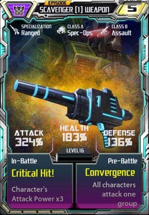 Scavenger 1 Weapon