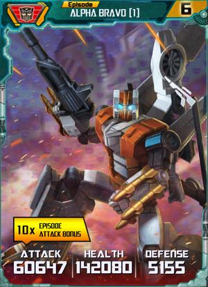 Alpha Bravo 1 Robot
