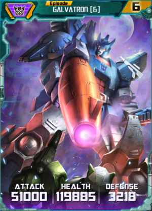 Galvatron 6 Robot
