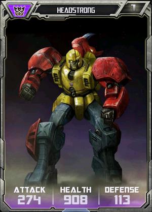 (Deceptions) Headstrong - Robot