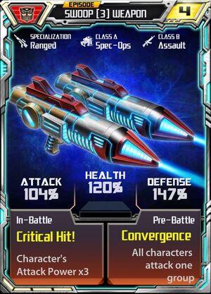 Swoop (3) Weapon