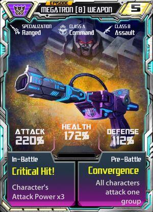 Megatron 8 Weapon
