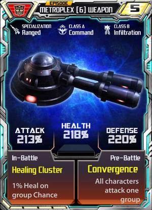 Metroplex 6 Weapon