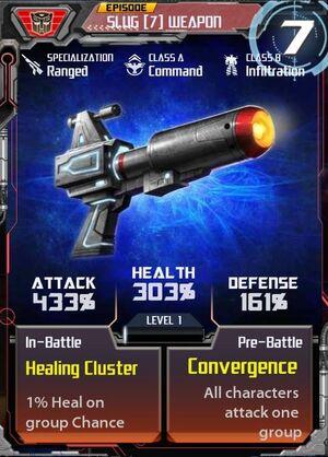 Slug 7 Weapon