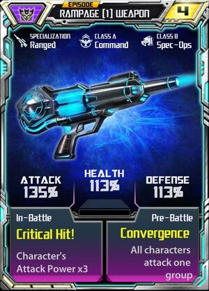 Rampage (1) Weapon