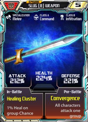Slug 8 Weapon