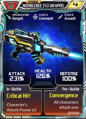 Bumblebee 5 Weapon