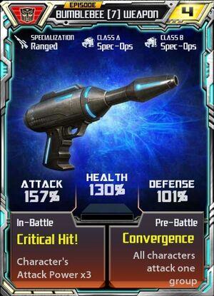 Bumblebee 7 Weapon