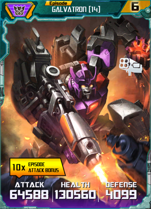 Galvatron 14 Robot