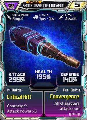Shockwave 16 Weapon