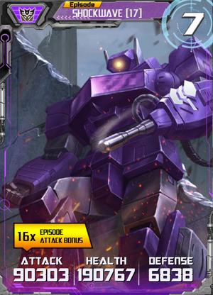 Shockwave 17 Robot