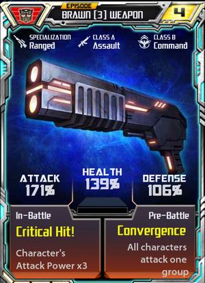 Brawn 3 Weapon