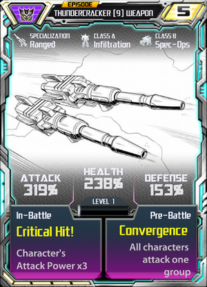 Thundercracker 9 Weapon