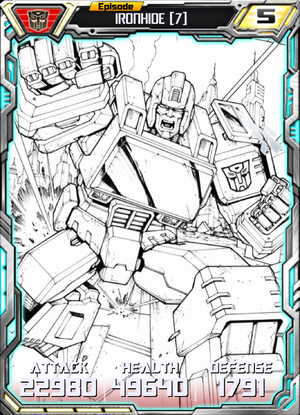 Ironhide 7 Robot