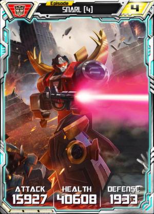 Snarl 4 Robot