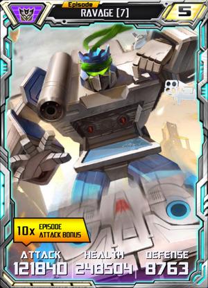 Ravage 7 Robot