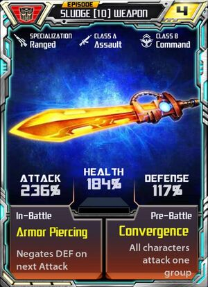 Sludge 10 Weapon