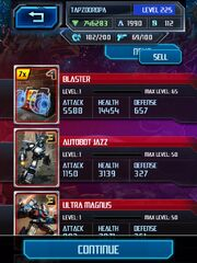Screenshot by 10825809 - Covert Operations - Blaster Raid Card Pulled