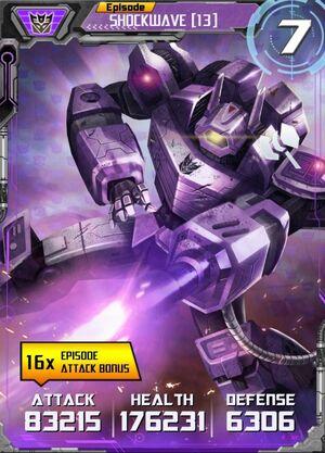 Shockwave (13) Bot