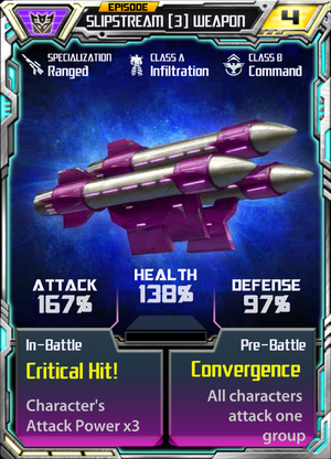 Slipstream 3 Weapon