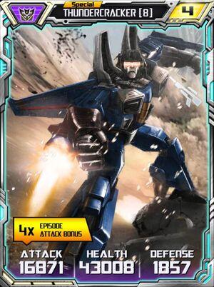 Thundercracker 8 Robot
