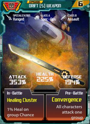 Drift 5 Weapon