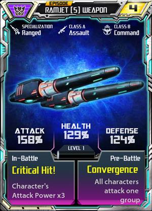 Ramjet 5 Weapon