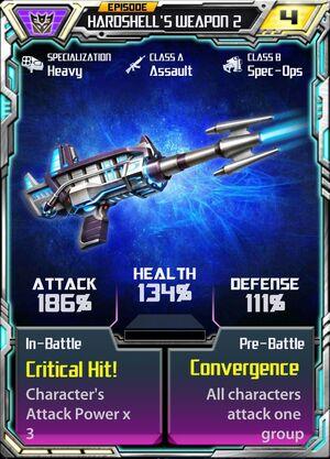 Hardshell 2 Weapon