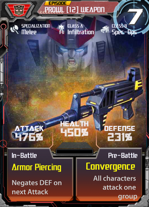 Prowl 12 Weapon