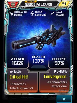 Sludge (4) Weapon