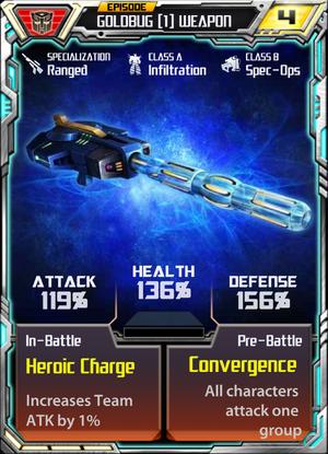 Goldbug 1 Weapon