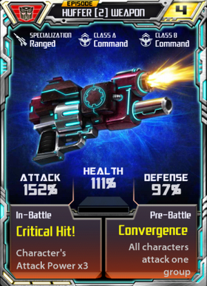 Huffer2Weapon