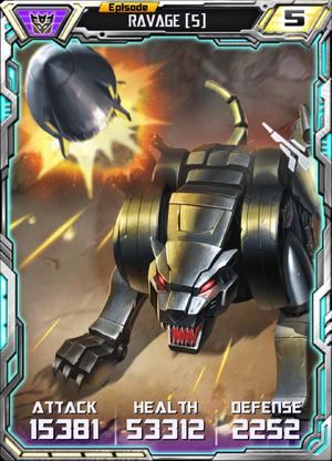 Ravage (5) Robot