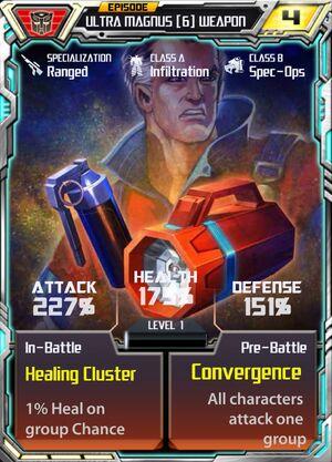 Ultra Magnus 6 Weapon