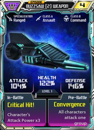 Buzzsaw 2 Weapon