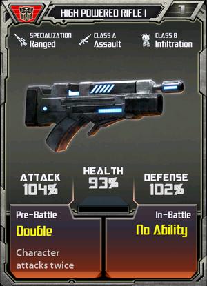 High Powered Rifle 1