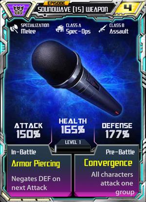 Soundwave 15 Weapon