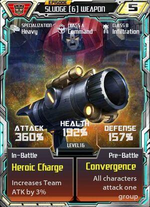 Sludge 6 Weapon