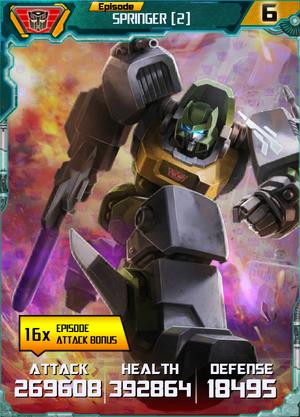 Springer 2 Robot