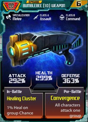 Bumblebee 10 Weapon
