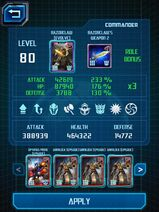 Screenshot by 10622550 - Call of the Primitives - Razorclaw 2 Stats - Deck Builder