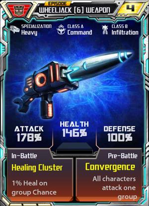 Wheeljack 6 Weapon