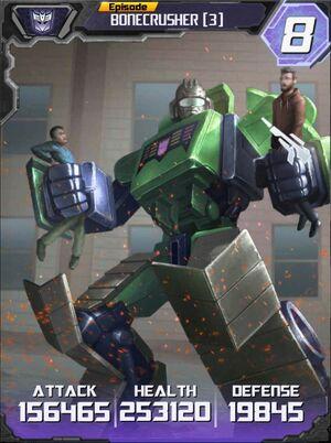 Bonecrusher 3 Robot