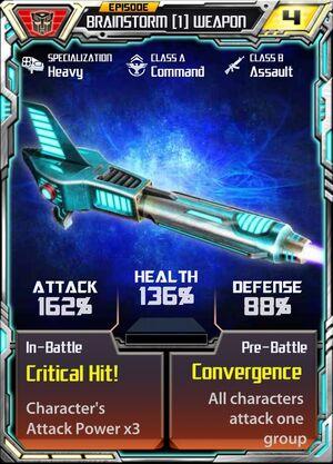 Brainstorm 1 Weapon