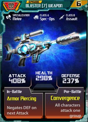 Blaster 7 Weapon